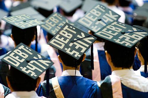 2019年学生贷款研究显示数字仍然庞大并且仍处于崛起状态