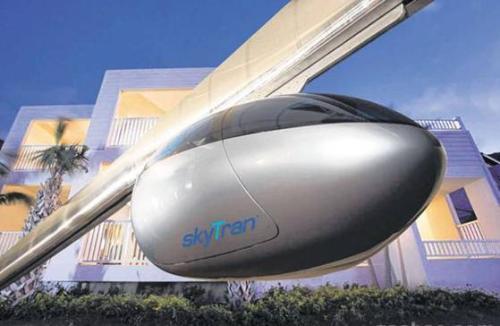 该公司希望城市居民乘坐飞行豆荚旅行首先它必须面对巨大的法规障碍