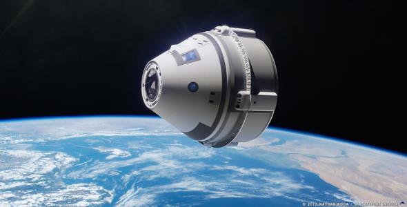 波音Starliner乘员舱和Atlas V火箭在试飞前进行了彩排