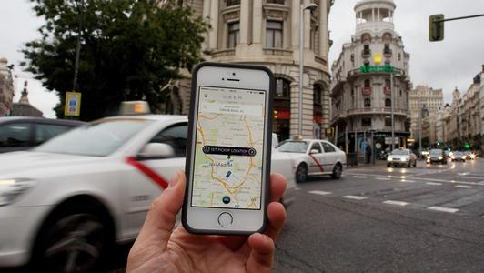 Uber的打车业务受到德国禁令的打击