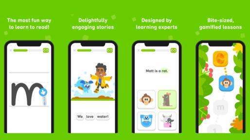 Duolingo ABC App教孩子们免费阅读