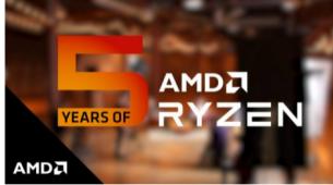 AMD庆祝锐龙5周年
